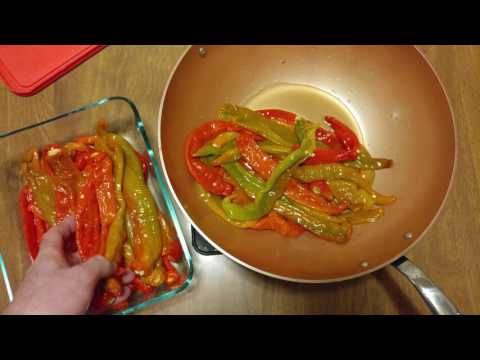 HOW TO COOK RED LONG HOT PEPPERS