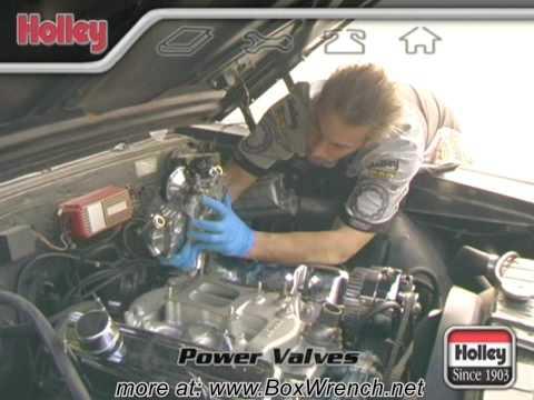 Carburetor Power Valves Video - Holley Carb Tuning DVD
