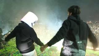 Marshmello and Kartik Aaryan dance battle to Luka Chuppi
