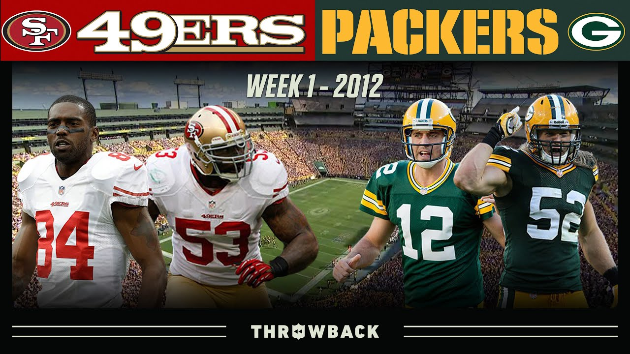 5-Star Matchup on Opening Sunday! (49ers vs. Packers 2012, Week 1)