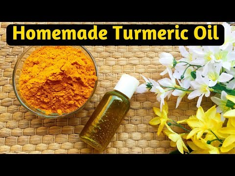 DIY Turmeric Oil Benefits, uses & preparation in Hindi I How to make Turmeric oil I AVNI