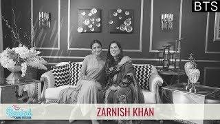 Behind The Scenes With Zarnish Khan | Rewind With Samina Peerzada