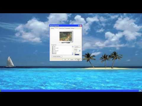 How To Change your Desktop Pattern Wallpaper on Windows and Mac OS X