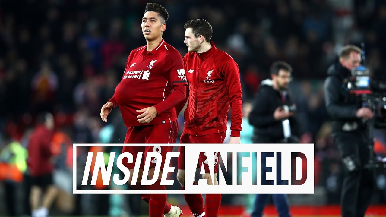 Inside Anfield: LFC 5-1 Arsenal - Tunnel cam