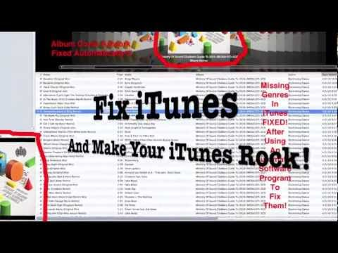 Add Album Cover Artwork Fix itunes Automatically - Fix iTunes Library!