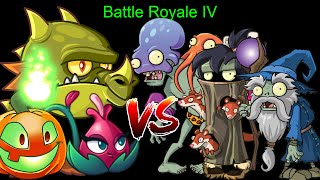 Download Plants vs Zombies Epic Battle Royale IV - Team Plants vs Dark Wizard Octo Zombies Weasel Hoarder Video