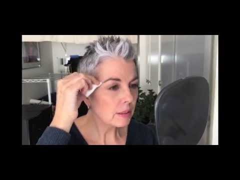 Quick Eyebrow Color - Tint Grey Hairs Using