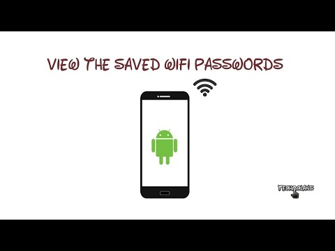 HOW TO VIEW THE SAVED WIFI PASSWORD ON ANDROID