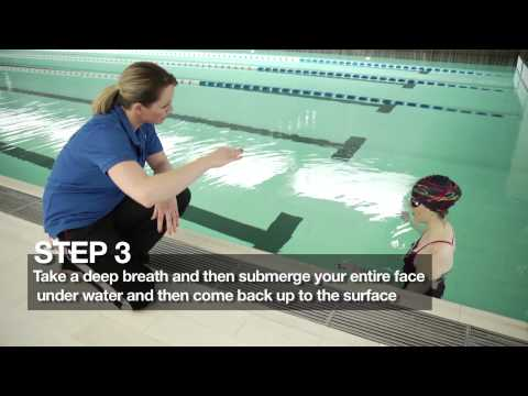Speedo Advisors | How to overcome the fear of swimming with your face in the water by Julie Johnston