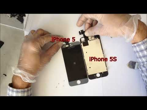 iphone 5s Front Glass and Inside look