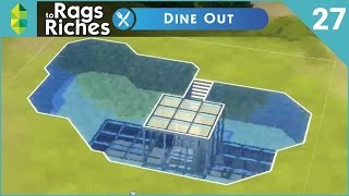 The Sims 4 Dine Out  Rags To Riches  Part 27