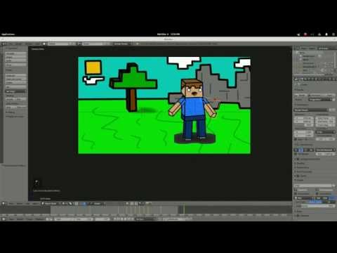 Blender Tutorial 2D Animation