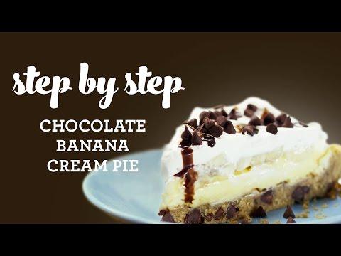 How to Make Chocolate Banana Cream Pie