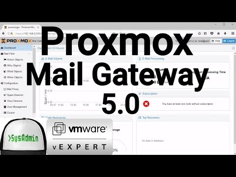 How to Install Proxmox Mail Gateway 5.0 + VMware Tools + Review on VMware Workstation [2018]
