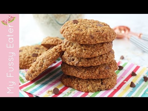 Healthier Chocolate Chip Cookies | Snacks for Kids