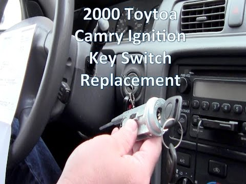 Replace 2000 Toyota Camry Key Ignition Switch