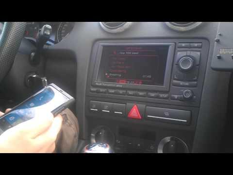 Audi A3 8P RNS-e Bluetooth SMS