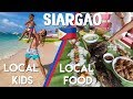 DELICIOUS FILIPINO FOOD + ADORABLE LOCAL KIDS IN SIARGAO 🇵🇭 Philippines Travel Vlog Ep 19