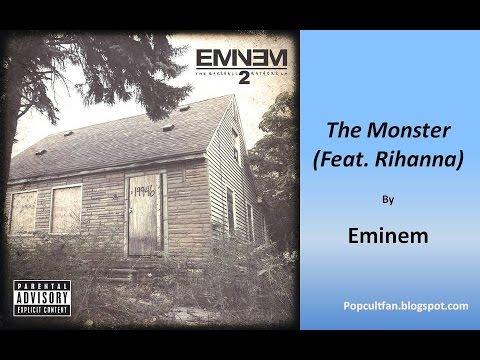 Eminem - The Monster (Feat  Rihanna) (Lyrics)
