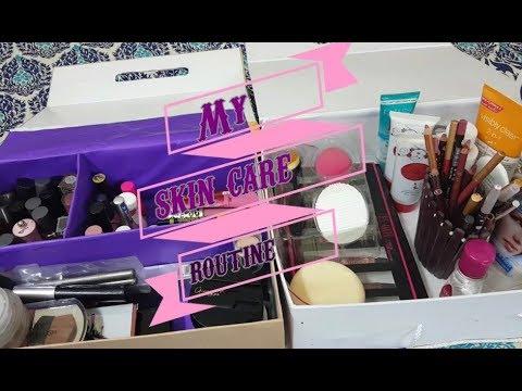 MY SKINCARE ROUTINE ! & MAKEUP COLLECTION//Pakistani Skincare Routine
