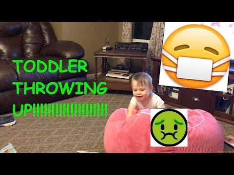 TODDLER THROWING UP!!!!!