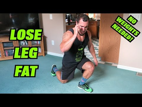 Intense 10 Minute At Home Fat Burning Leg Workout