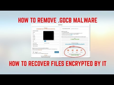 How to Remove .GDCB Virus Files + Restore Data