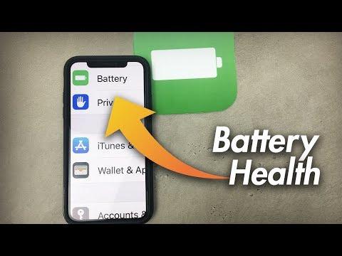 iOS 11.3 Battery Health Explained