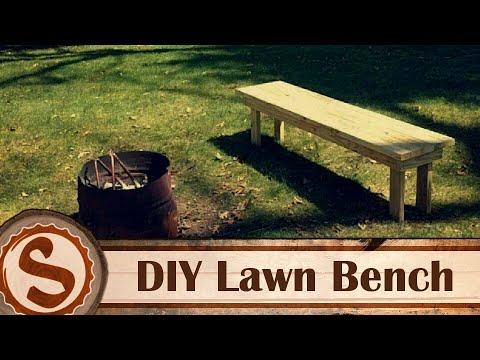 DIY Outdoor Bench (free plans)