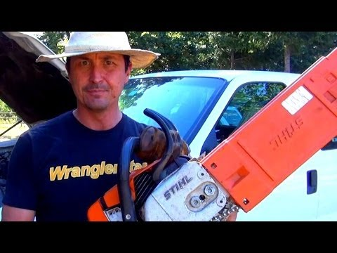 Charge A Car Battery With A Chainsaw