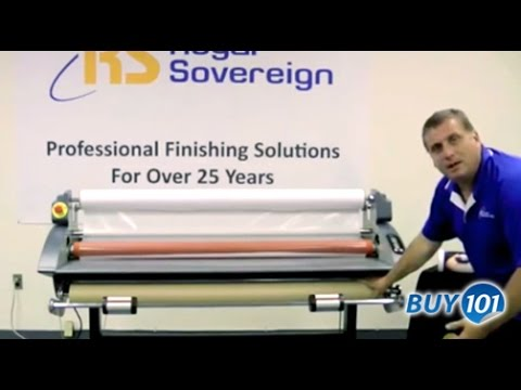 Royal Sovereign Wide Format Laminator Features