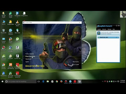 How to play Counter Strike 1.6 on VPN with friends