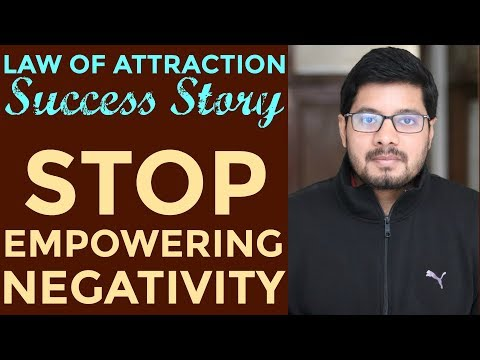 MANIFESTATION #76: Stop Giving POWER to Negative Thoughts | Law of Attraction Success Story