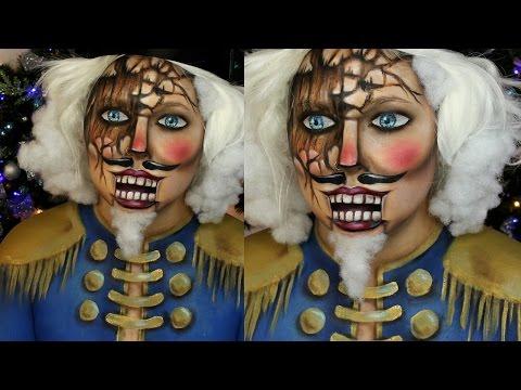 Wooden Nutcracker Makeup Tutorial | Jordan Hanz