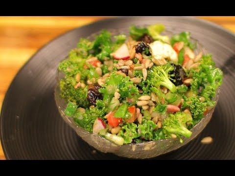 Kale and Bacon Salad - kale salad - keto recipe - healthy recipe channel - keto diet ketones
