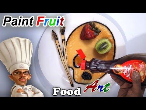 Paint Fruit - Food Art