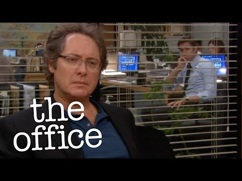 Jim Hides From Robert  - The Office US