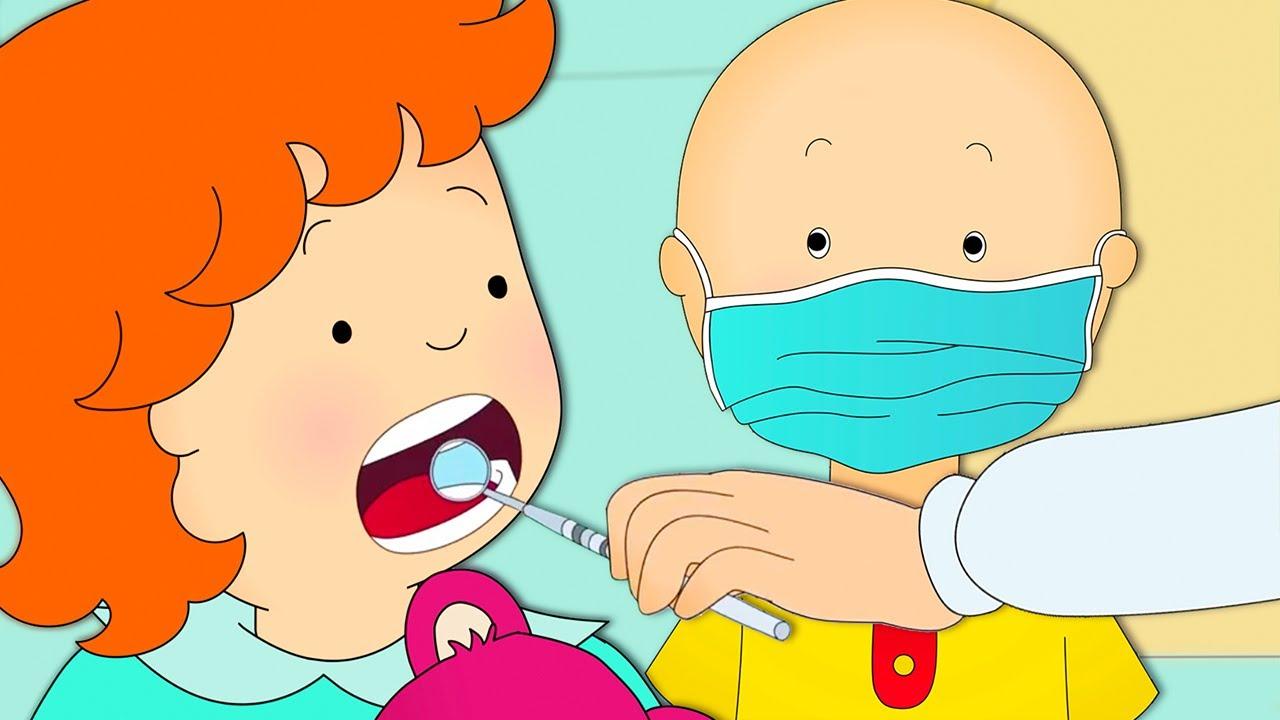 Caillou und Rosie Beim Zahnarzt | Caillou auf Deutsch