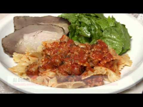 Cooking Al Dente Pasta  (Med Diet Episode 21)