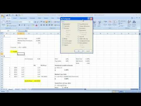 Functions-Formulas in Excel 9 - Highlight Cells With Formulas Without a Macro in Excel