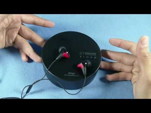 Elago E7 Armature In-Ear Headphones Review (HD)