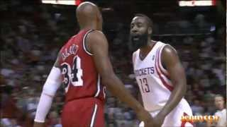 """James Harden Trash Talk to Ray Allen """"You"""