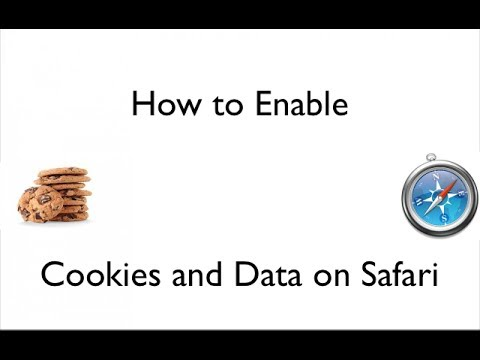 How To Enable Cookies and Data on Safari