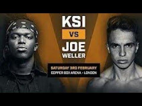 KSI VS JOE WELLER 3/2/18 WINNING MOMENT | KSI TKO