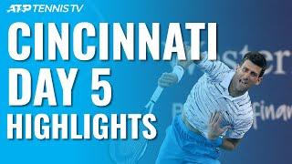 Djokovic Sets Medvedev Clash ; Gasquet To Face Goffin | Cincinnati 2019 Quarter-Final Highlights