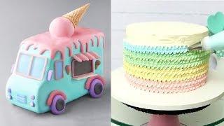 Download 12 Amazing Cake Art Designs   Yummy Chocolate Cake Decorating Ideas Video