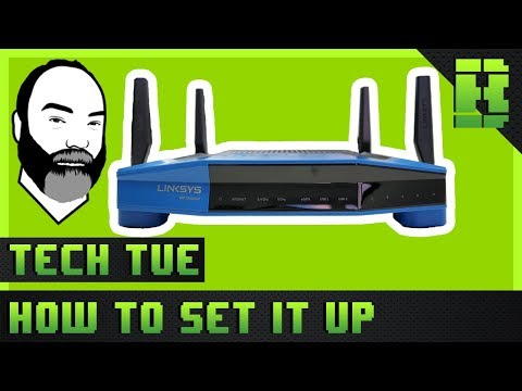 Unboxing - DD-WRT Firmware Config, Install, Setup | Linksys WRT3200ACM Gb Wireless Router | Tech Tue