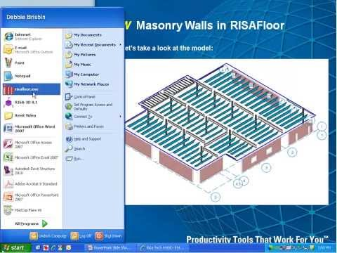 Learn to Design Masonry More Effectively with RISA Software