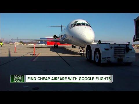 Find cheap airfare with Google Flights