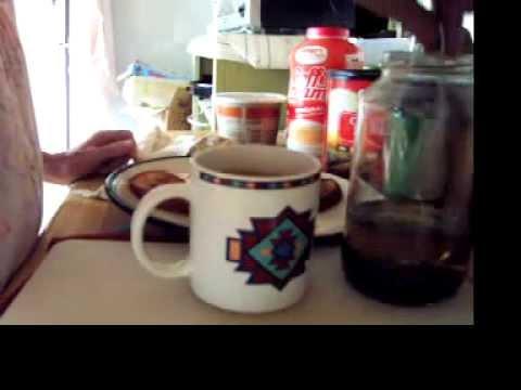 Brewing Chocolate Mint Herbal Tea